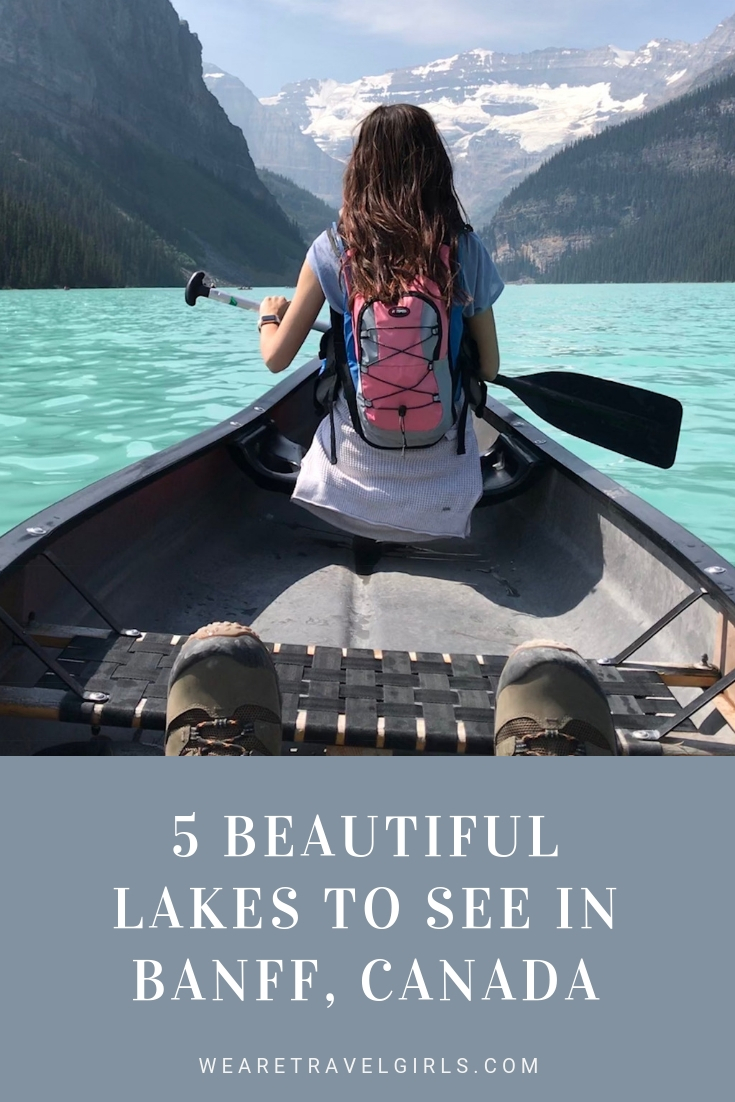 5 BEAUTIFUL LAKES TO SEE IN BANFF, CANADA