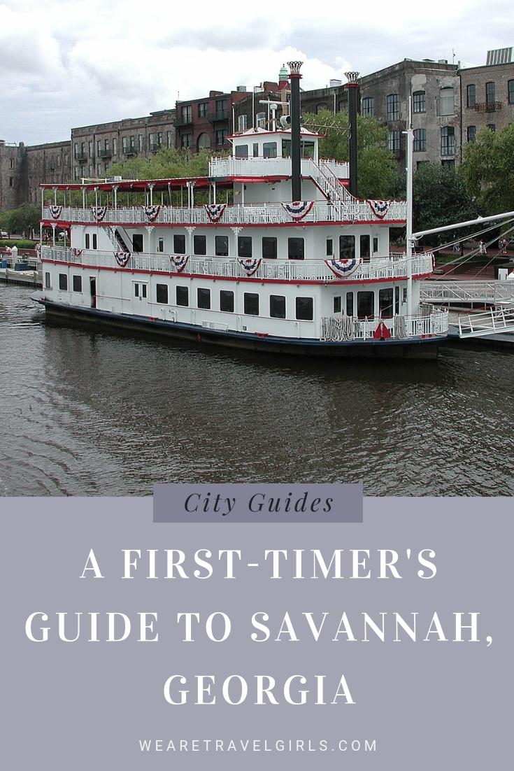 A First-Timer's Guide to Savannah, Georgia