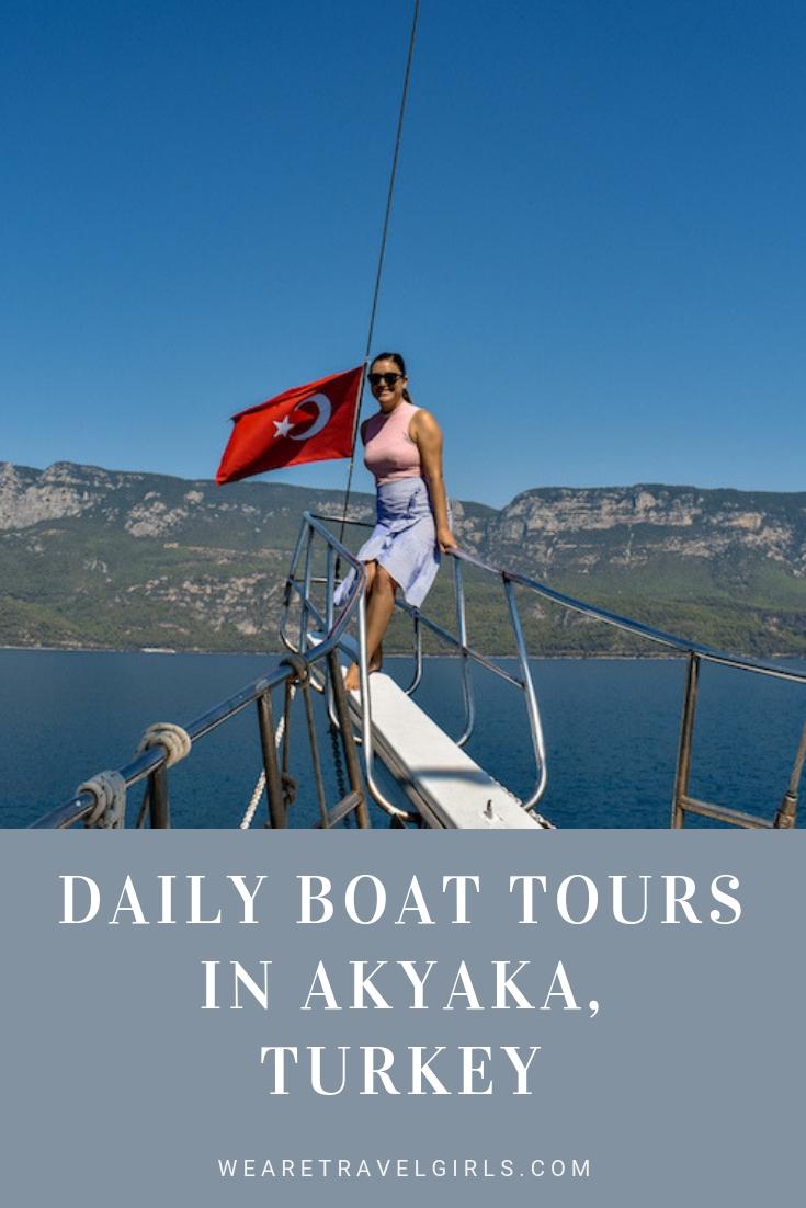 Daily Boat Tours In Akyaka, Turkey