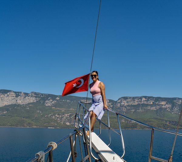 BOAT TOUR ITINERARY IN AKYAKA, TURKEY