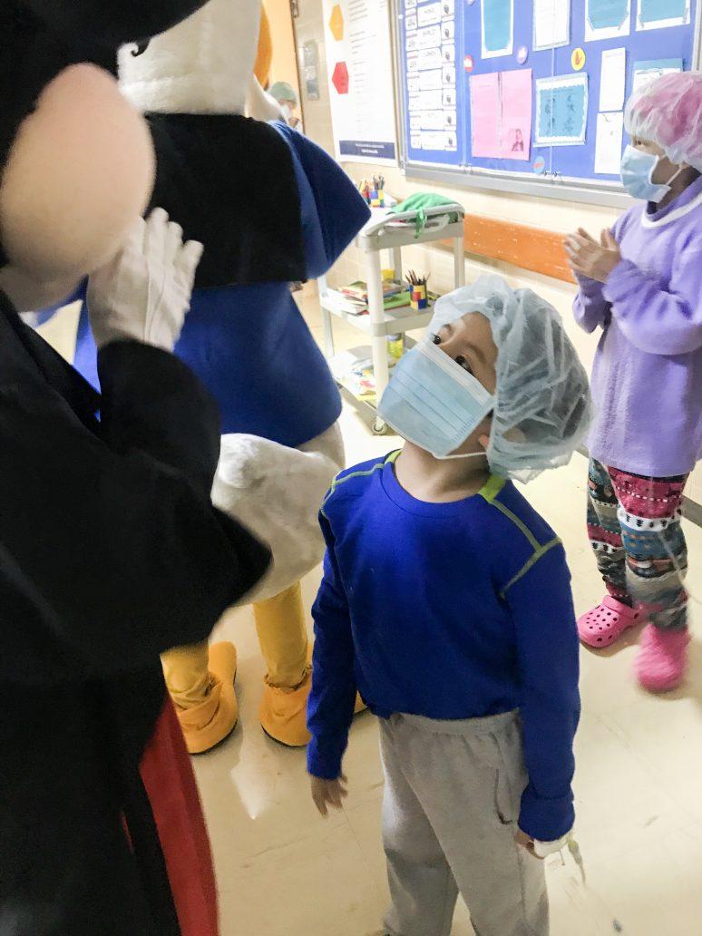 Aprendo Contigo - Education in Peruvian Hospitals
