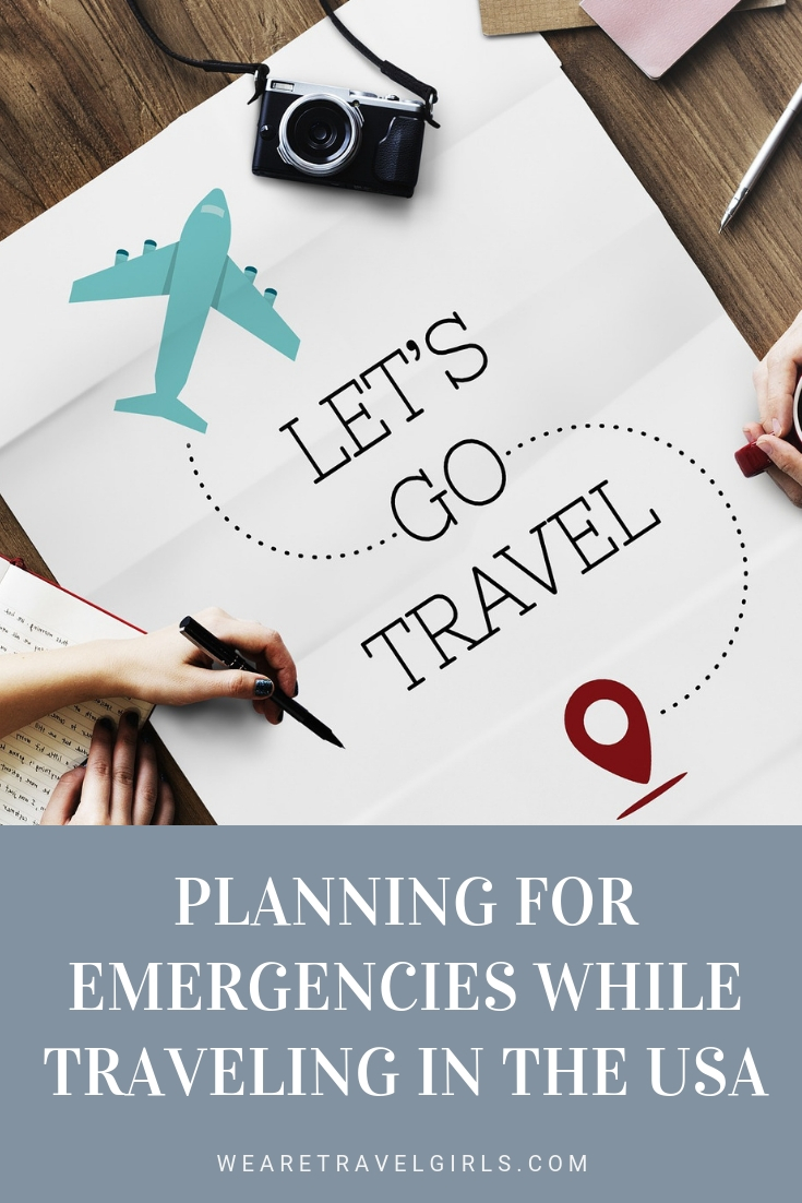 Planning for Emergencies While Traveling in the USA