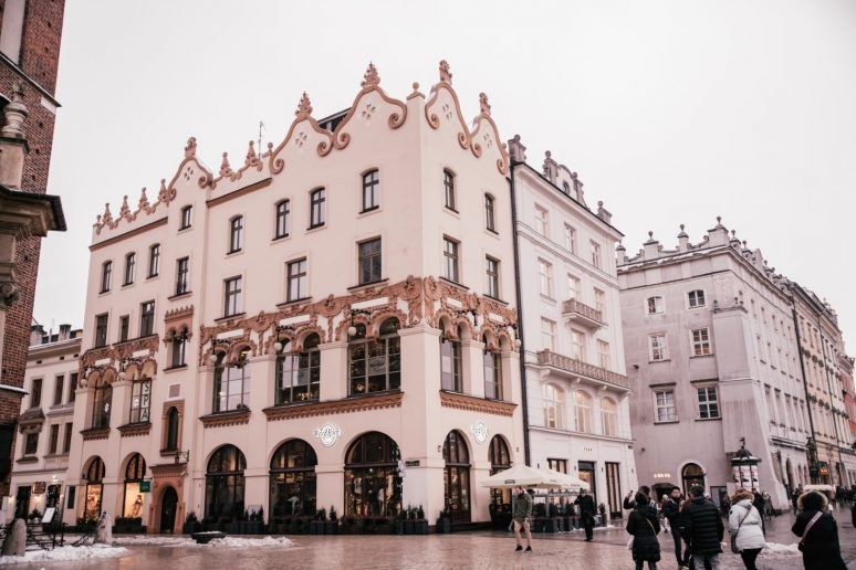 Architecture in Krakow