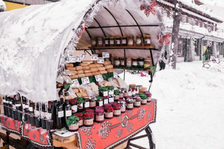 Bread and jams in Zakopane