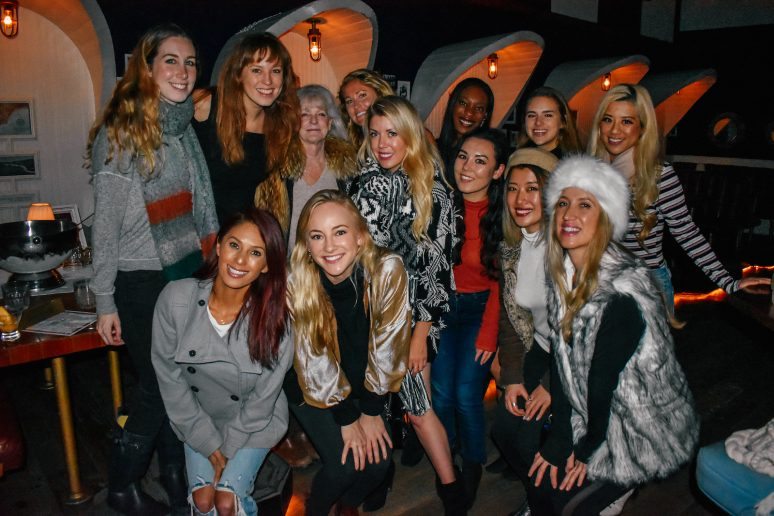 We Are Travel Girls Ski Themed Meet Up Party