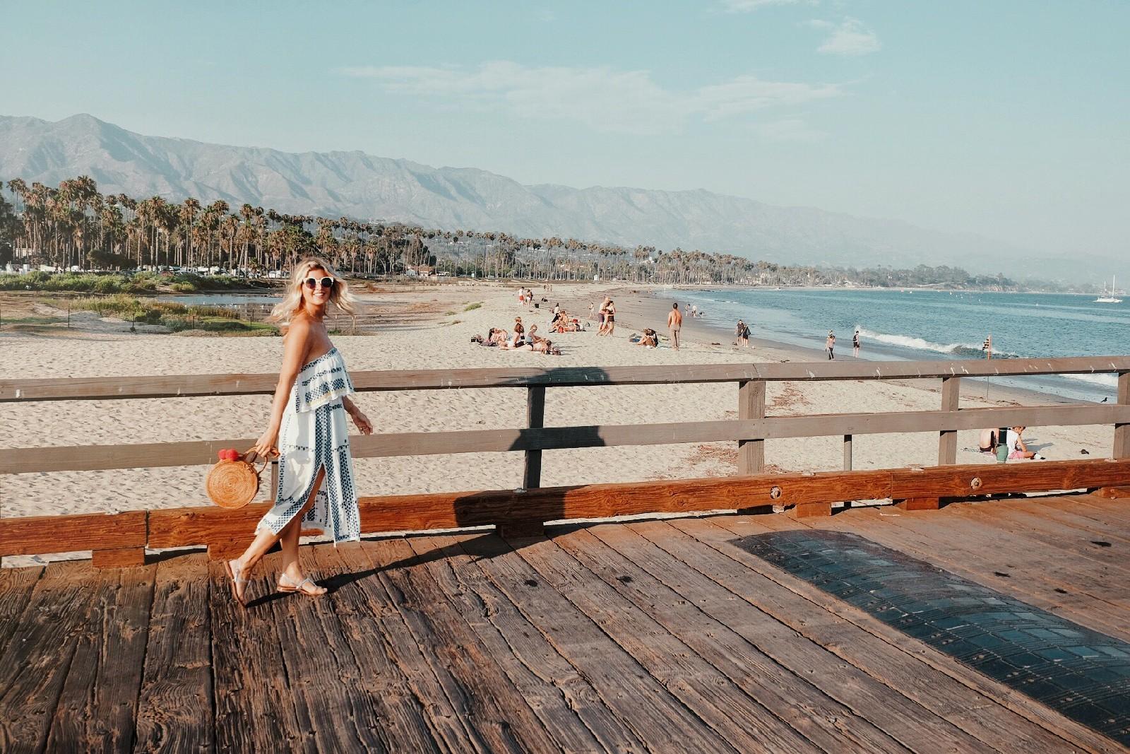 Highway 1 Road Trip - Santa Barbara Boardwalk