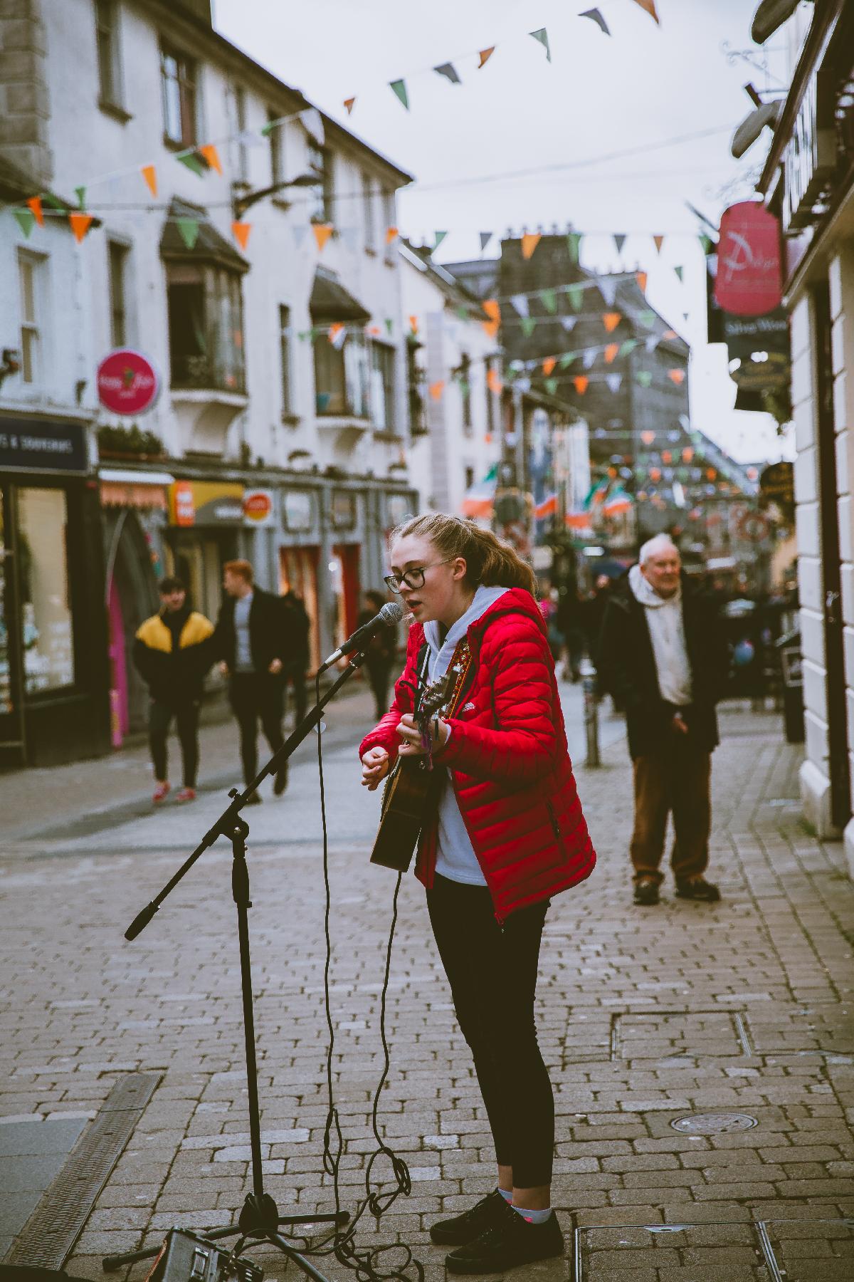 Galway Quay Street Performer