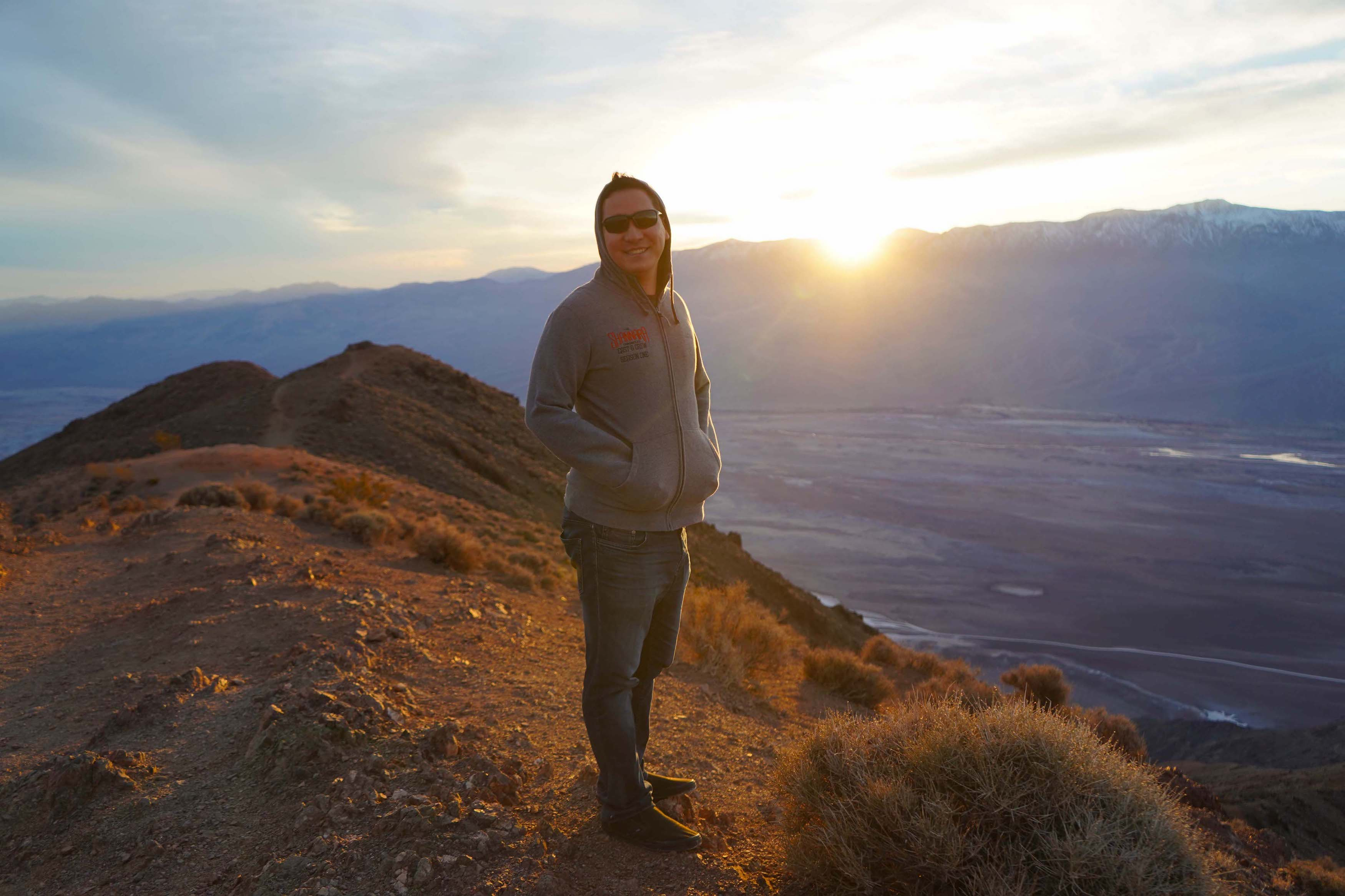 Dante's View Point In Death Valley