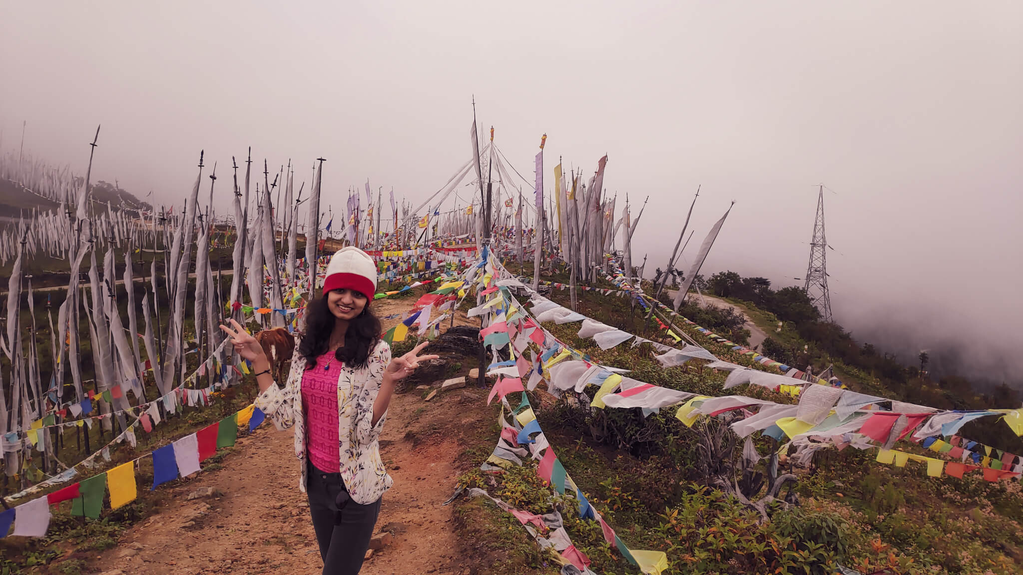 Chele La Pass While Visiting Bhutan