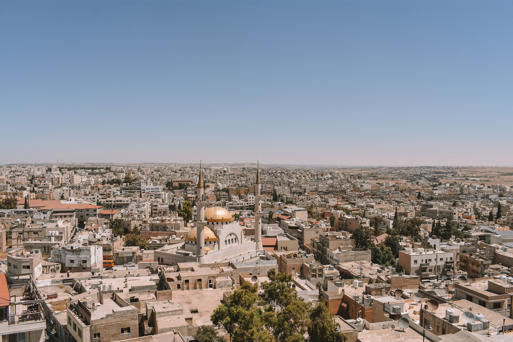 Madaba City in Jordan