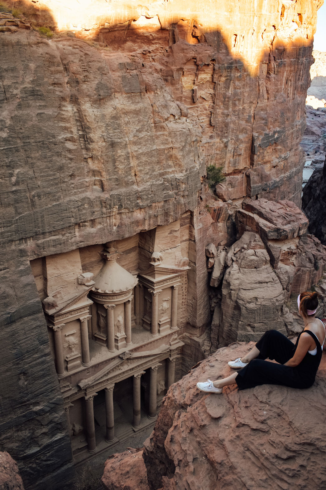 Petra Treasury in Jordan Without A Tour