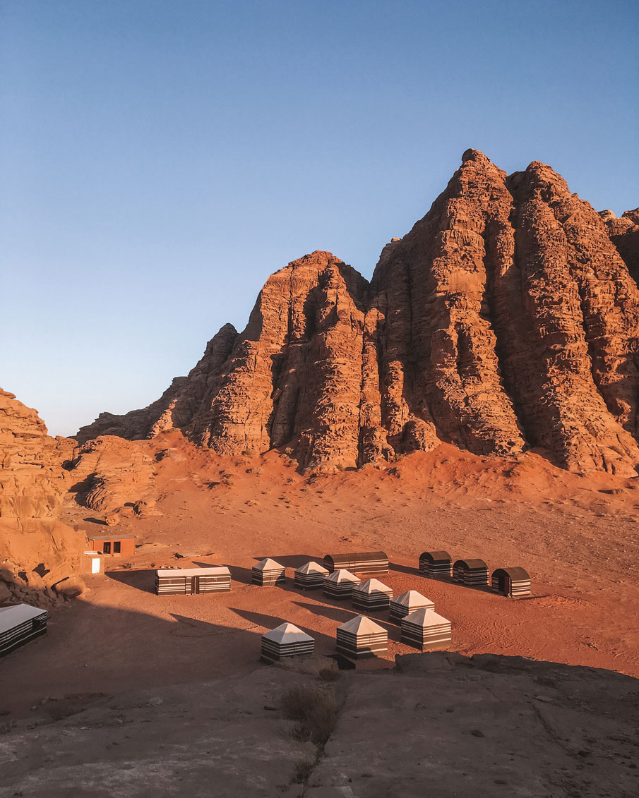 Wadi Rum Desert Camp in Jordan