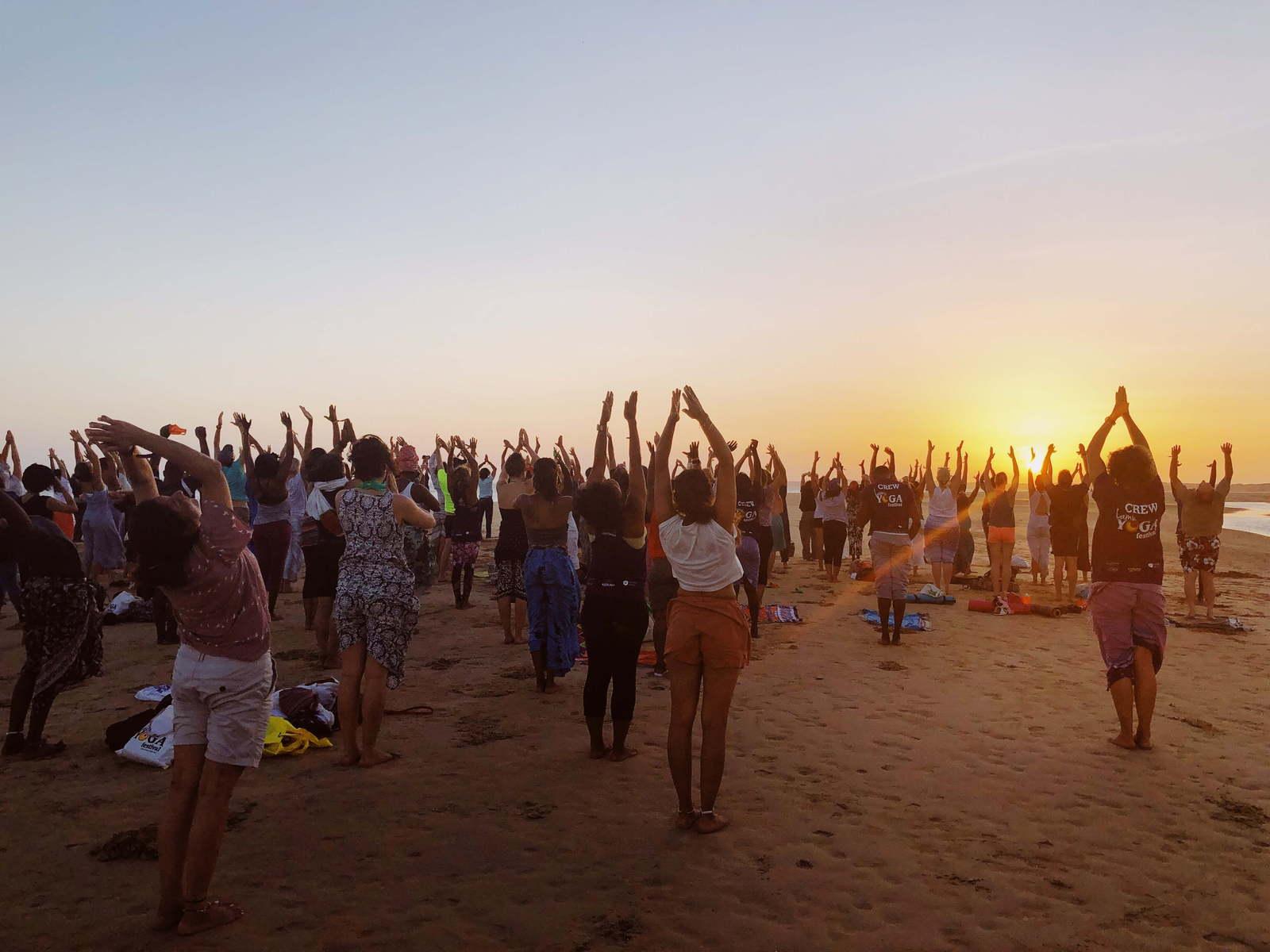 Lamu Yoga Festival, Kenya