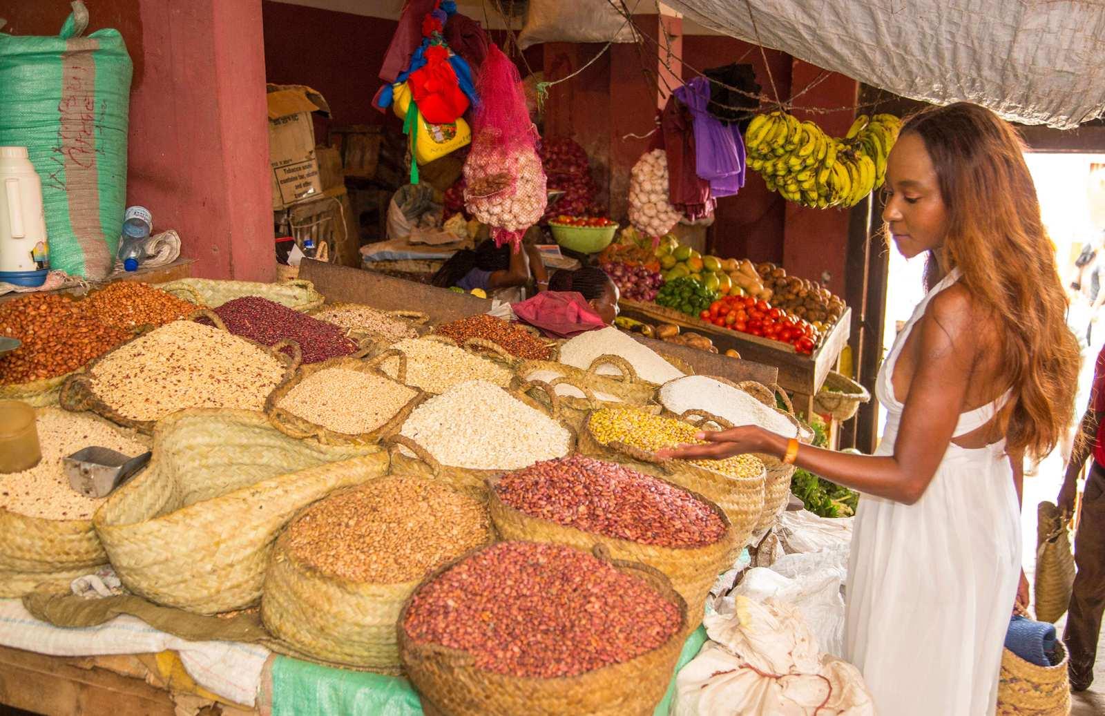 Spice Market in Lamu Island