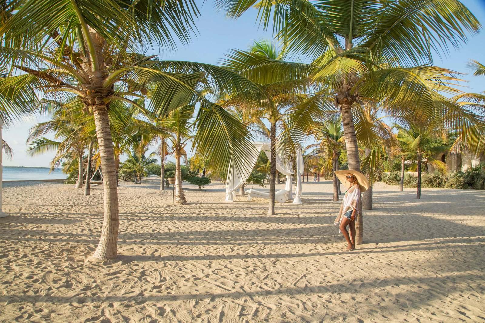 Shea Villa beach in Kenya