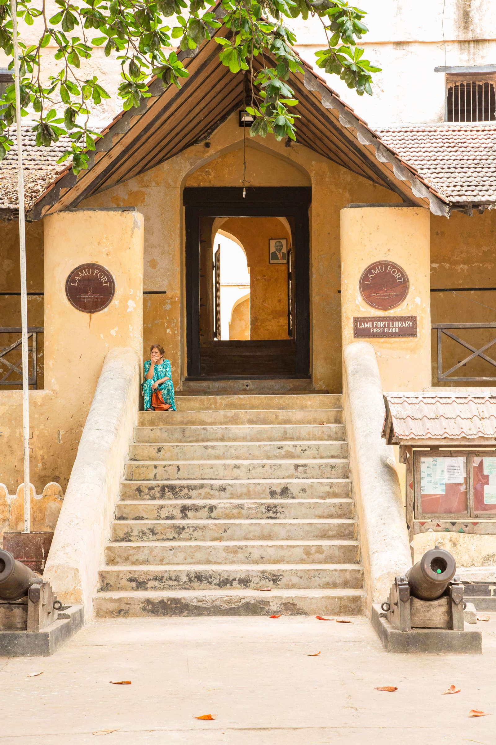 Lamu Fort Entrance in Kenya