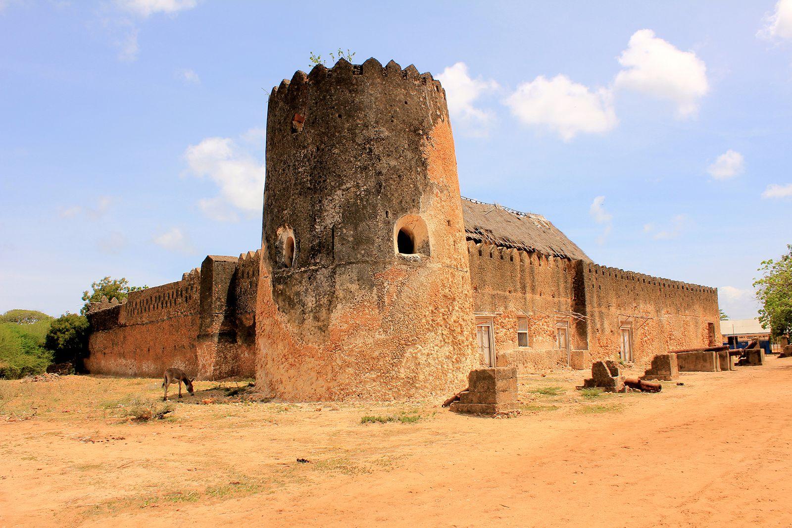 Siyu Fort on Pate Island in Kenya