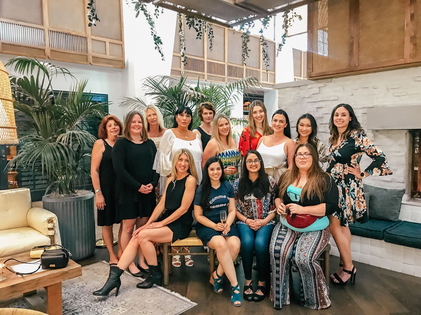 We Are Travel Girls Scottsdale Meet Up At The Canal Club