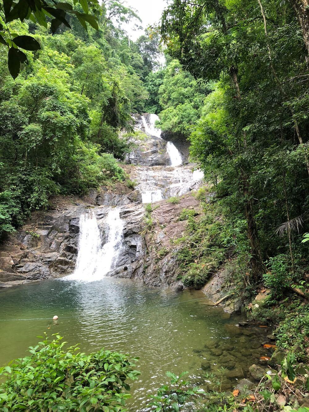 Waterfall in Khao Sok National Park