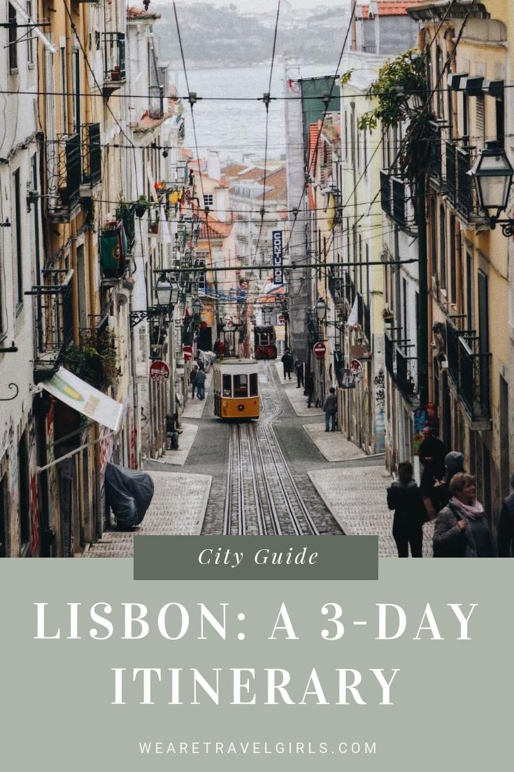 LISBON: A 3-DAY ITINERARY