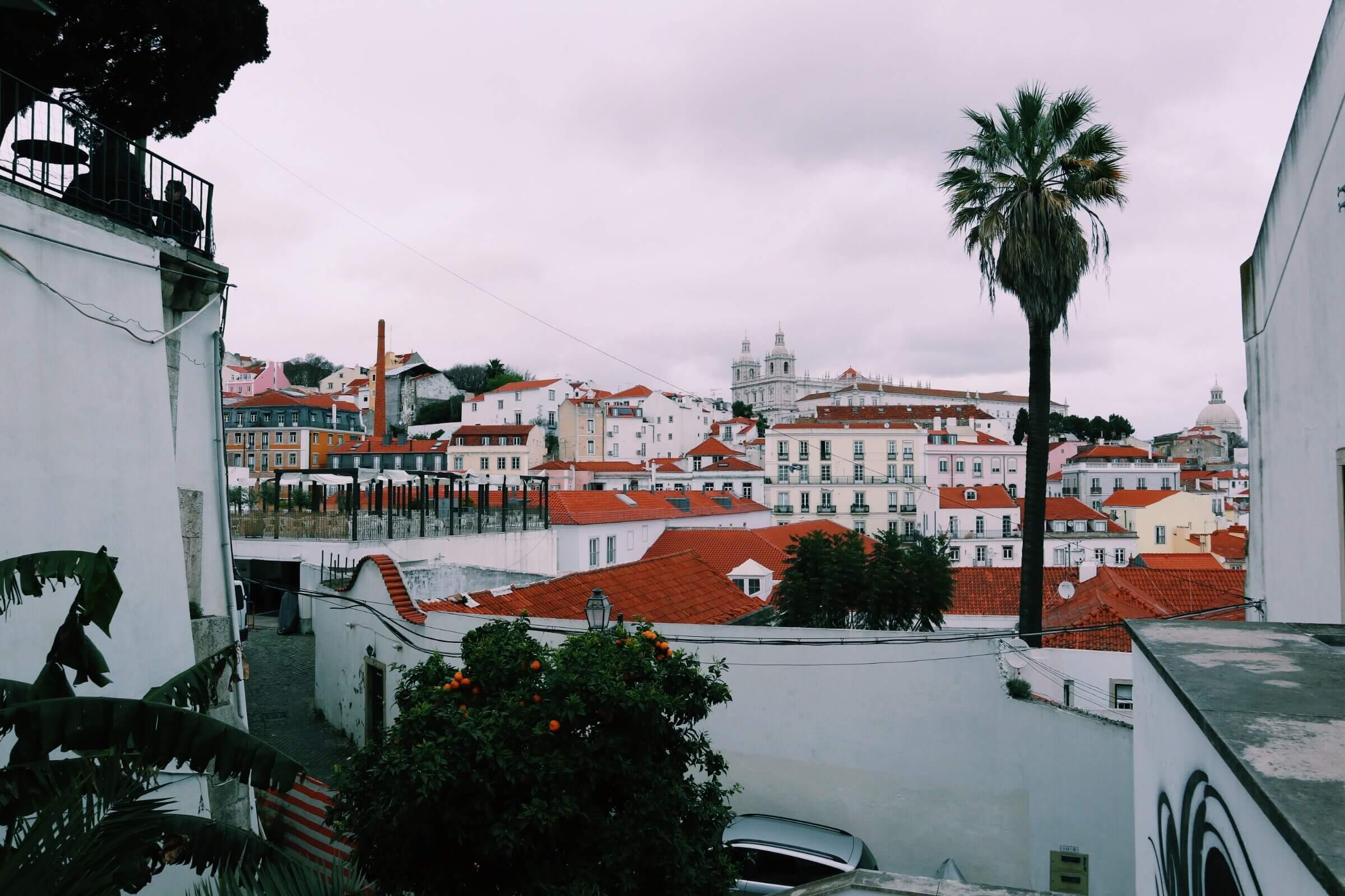 Miradouro Portas Do Sol in Lisbon