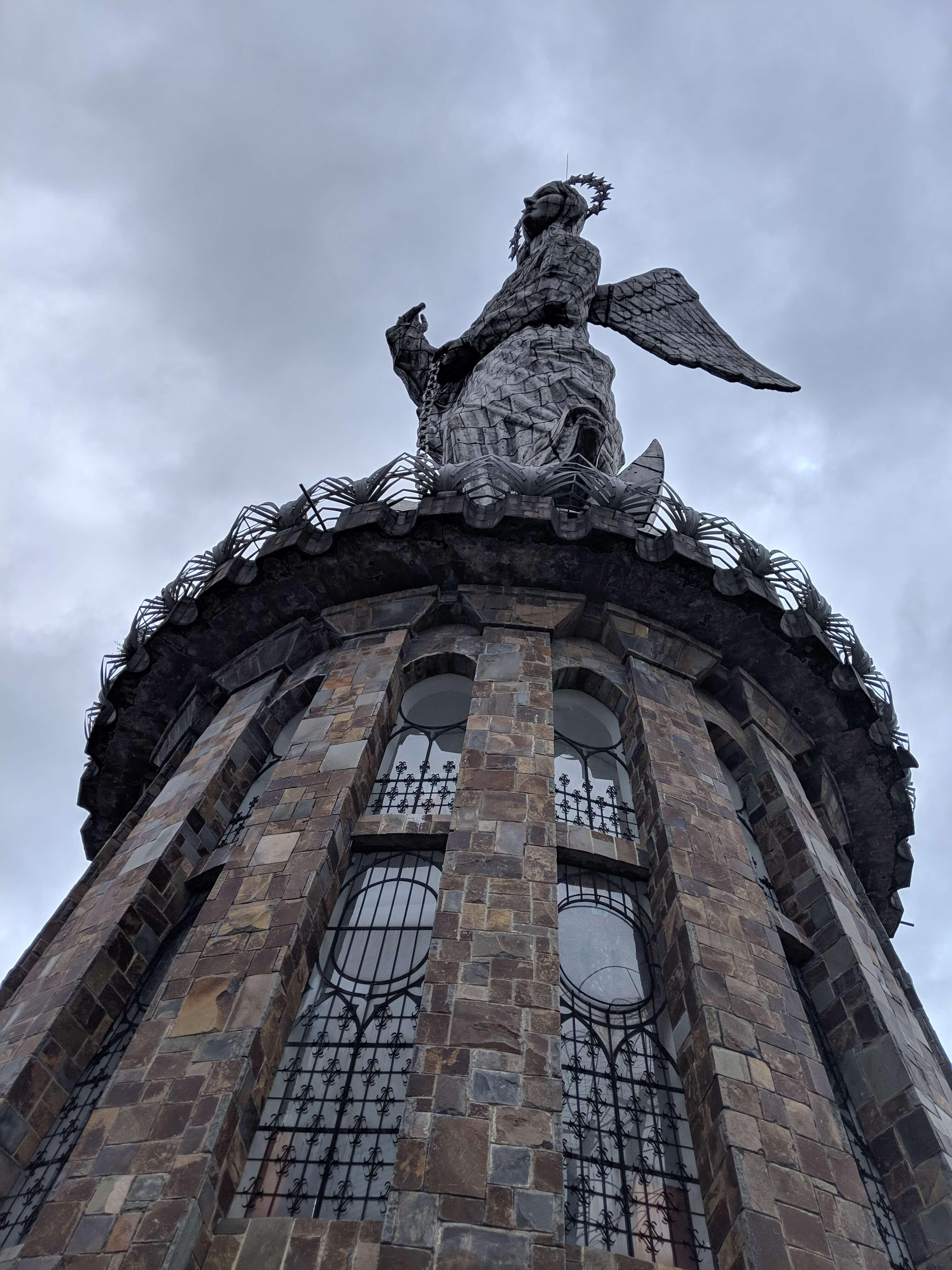 Virgen del Panecillo in Quito, Ecuador