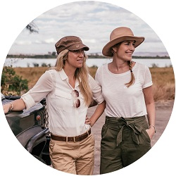 We Are Travel Girls Founders Becky van Dijk and Vanessa Rivers