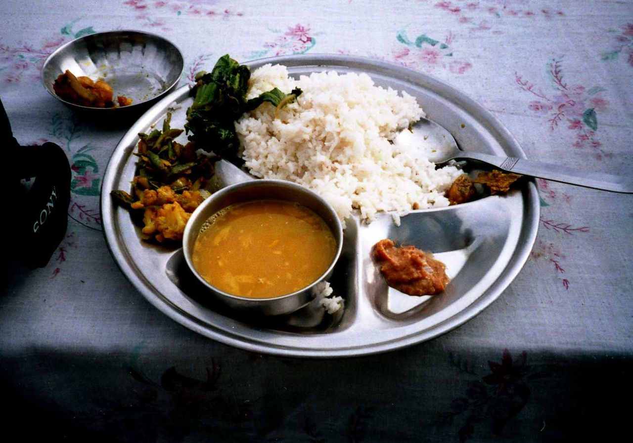 Dal Bhat meal