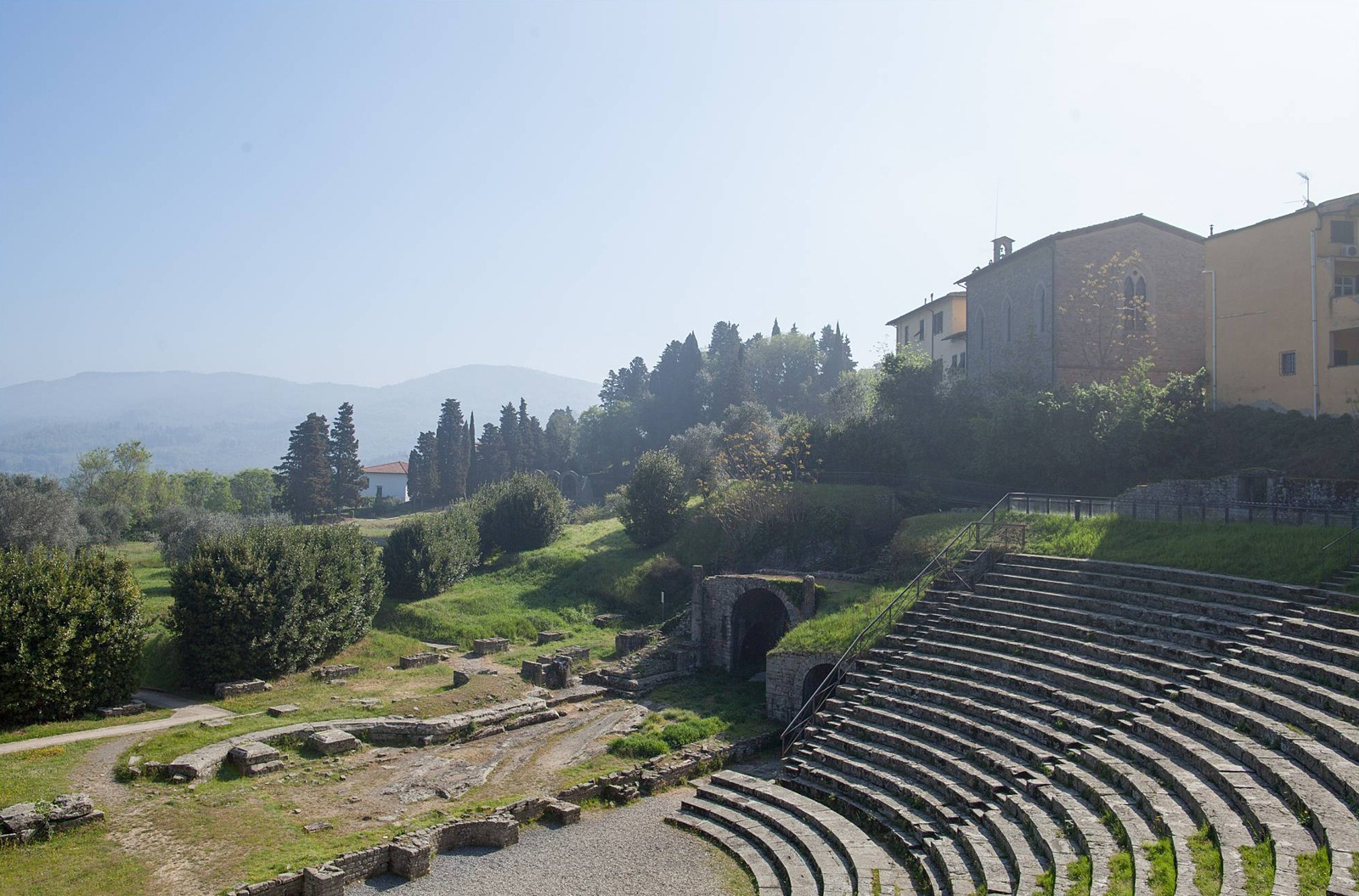 Roman and Etruscan ruins