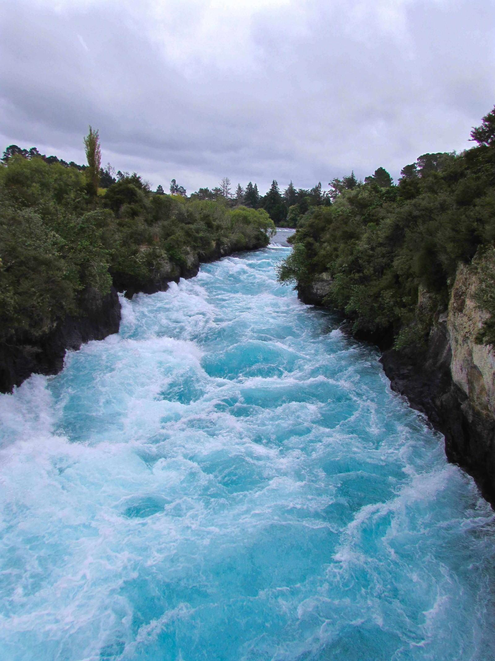 Huka Falls New Zealand Rapids