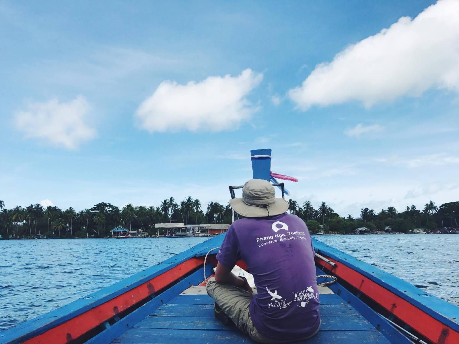 Khao Sok National Park Lake boat