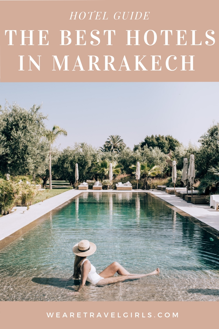 Best Hotels Marrakech Pinterest Cover