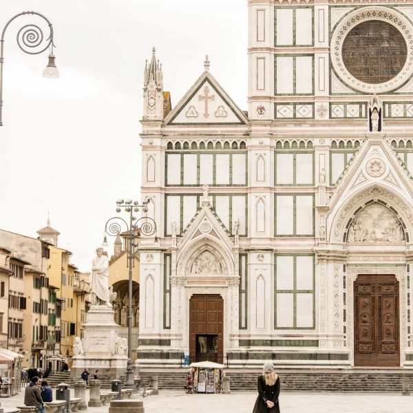 Image of basilica of santa croce in florence