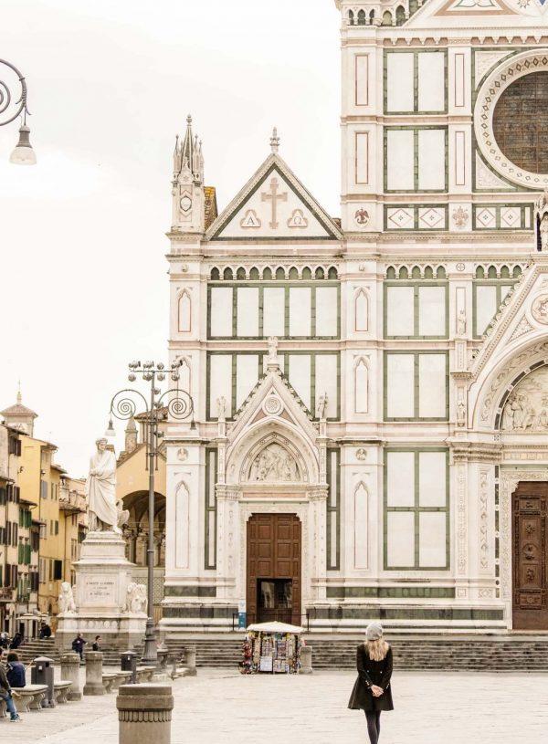 Image of basilica of santa croce in florence