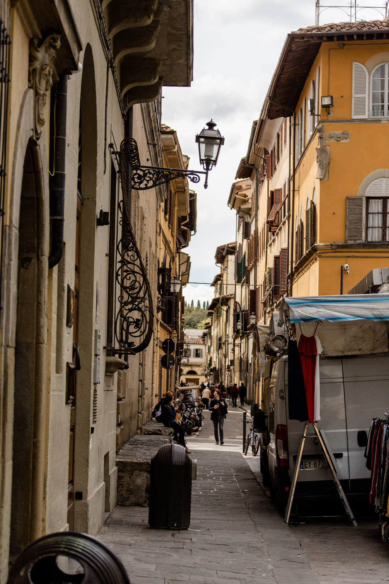 small. streets in Florence