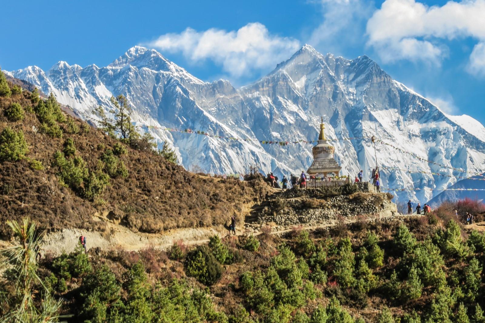 Himalaya Mountains in Nepal