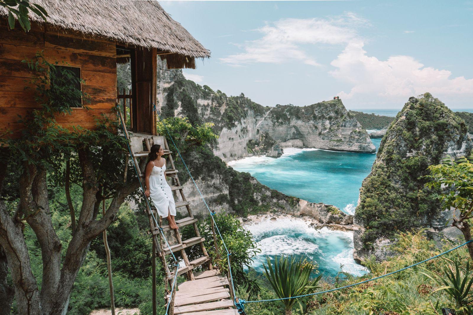 Treehouse at Nusa Penida island