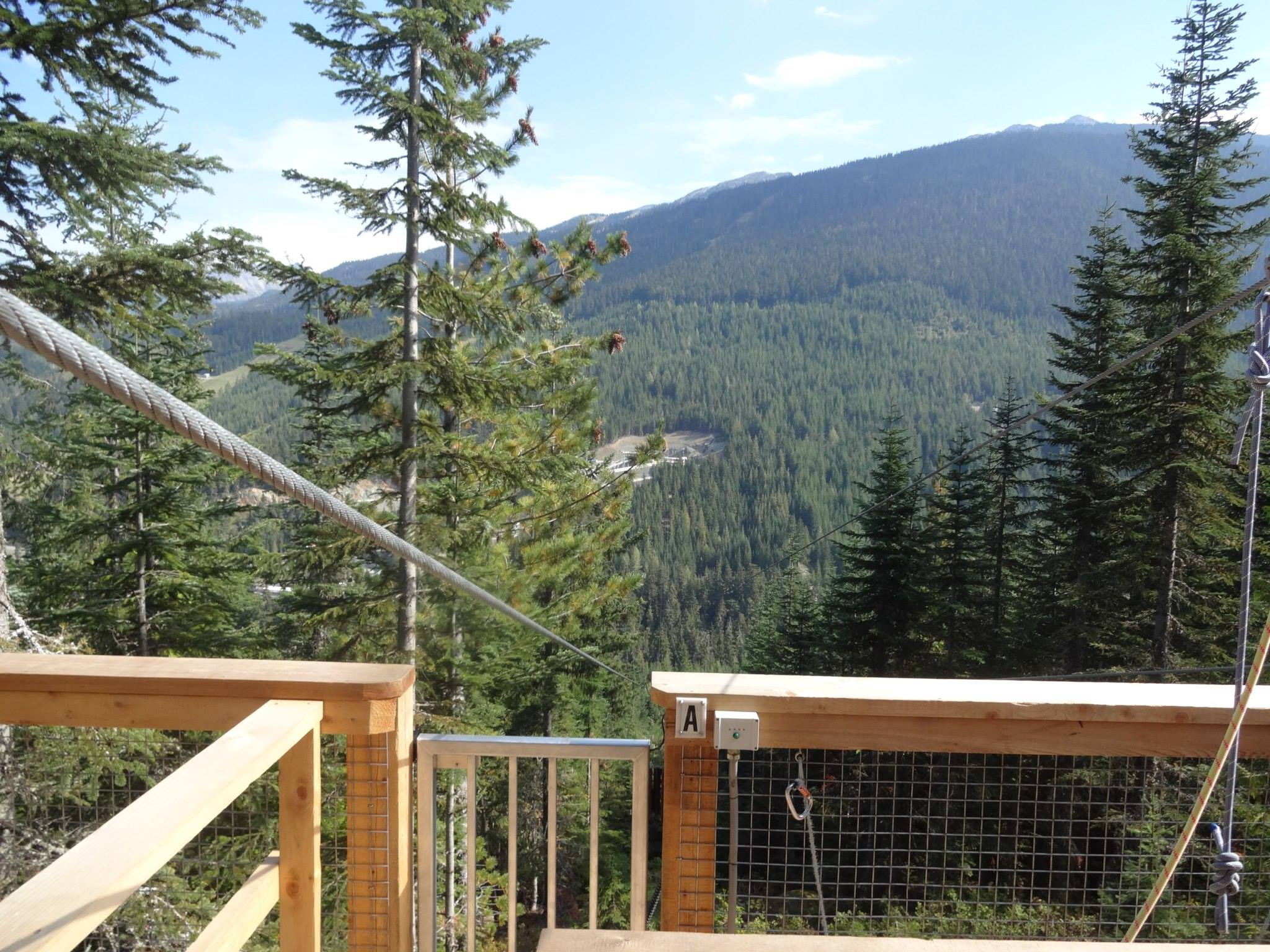 Summertime in Whistler Village and the Sea to Sky Highway