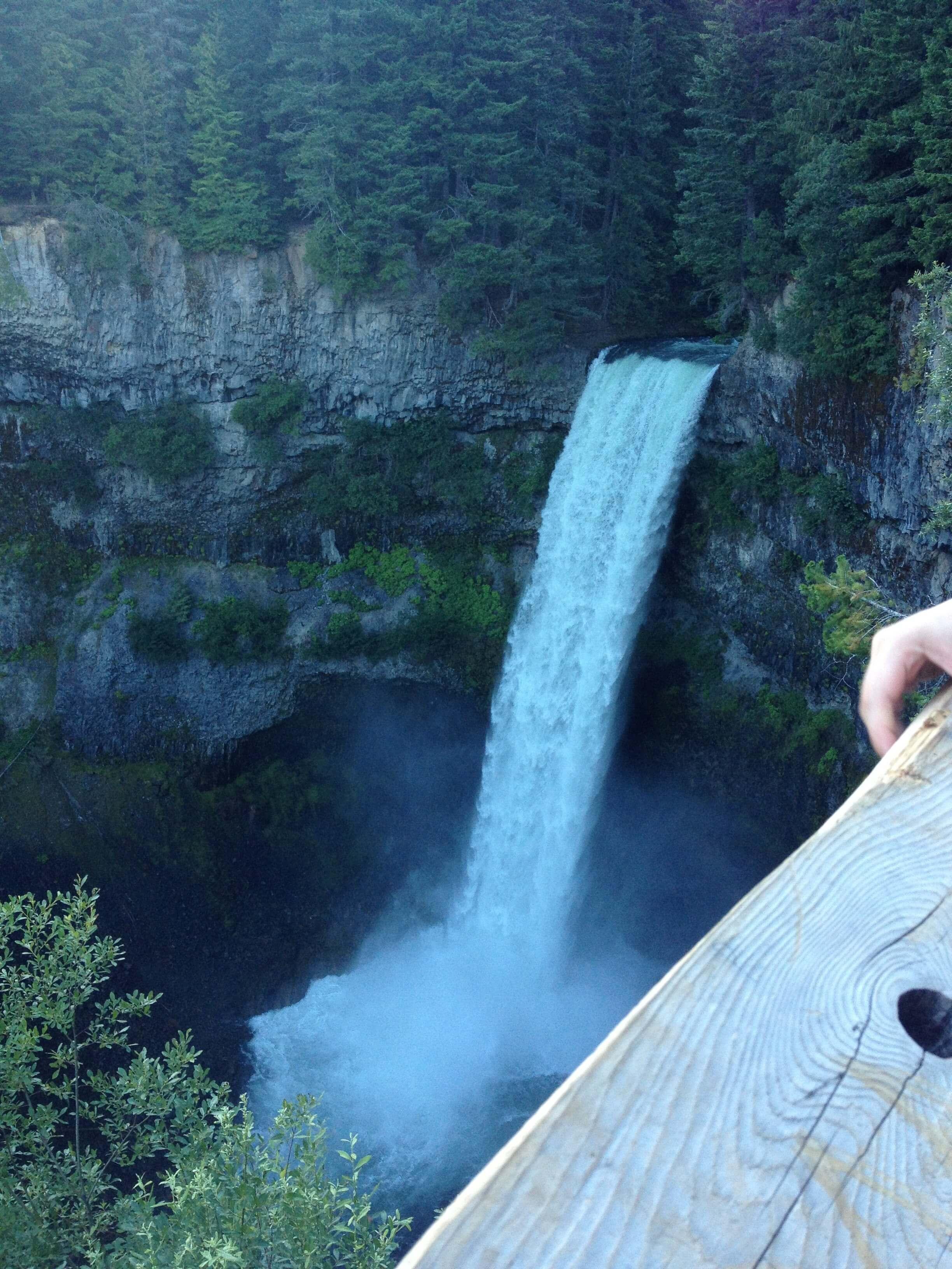 Brandywine Falls from bridge