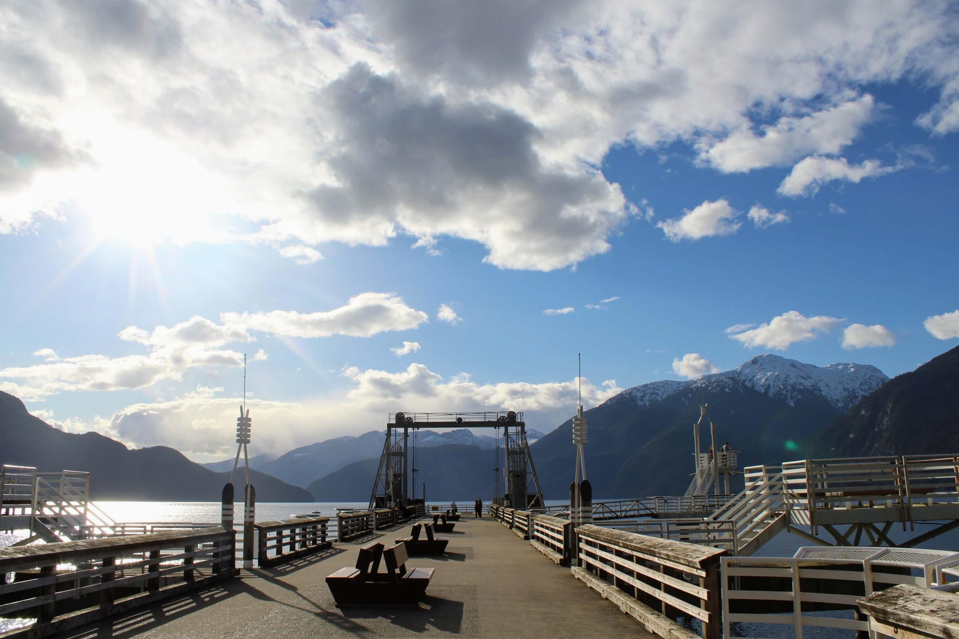 Porteau Cove Provincial Park dock