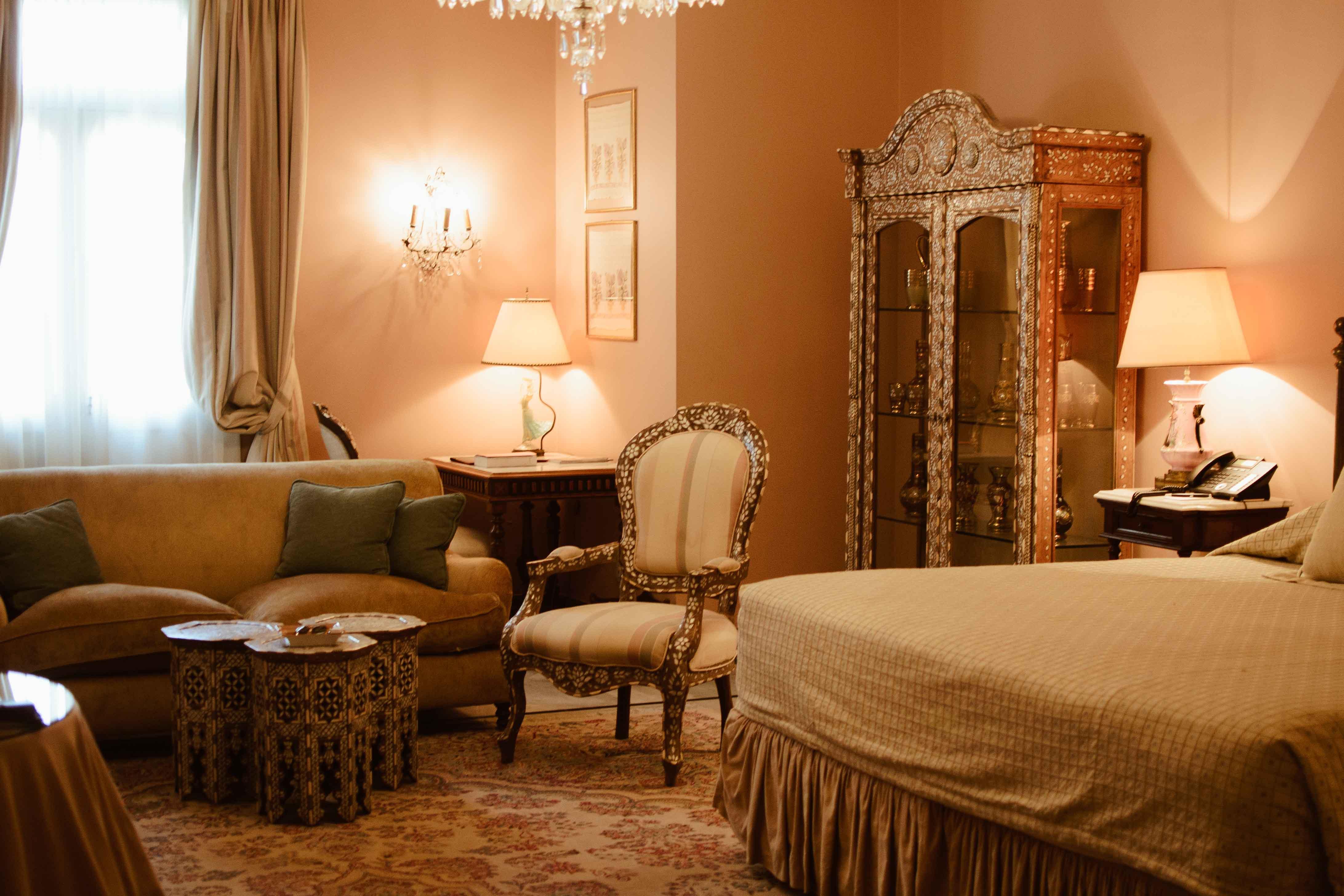 Hotel Albergo room