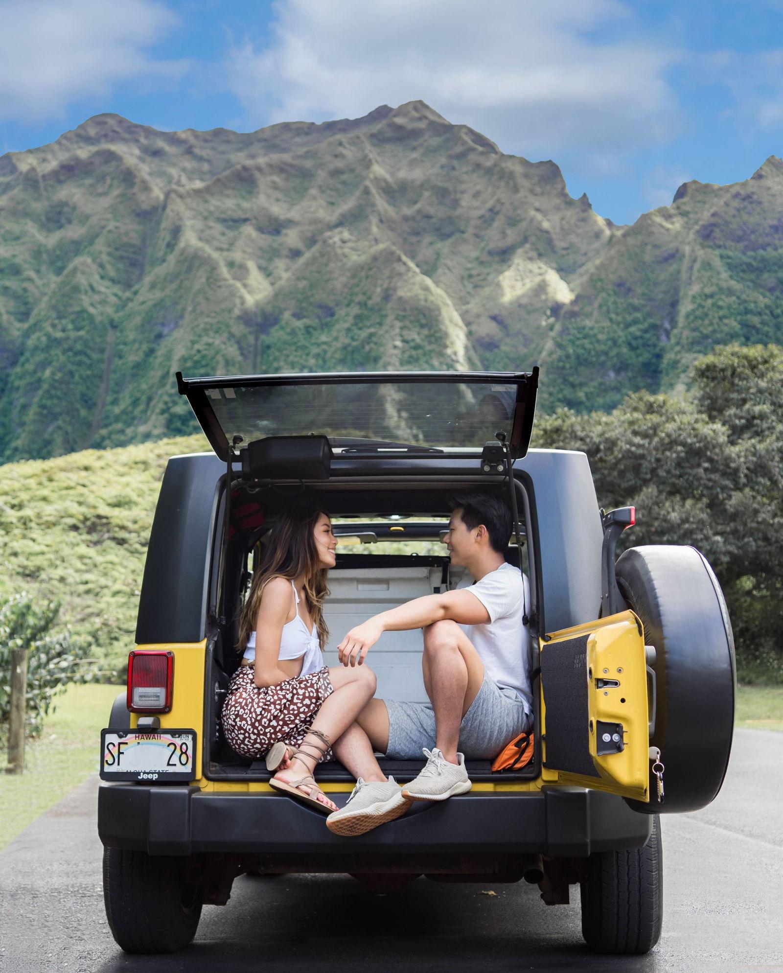 Hoomaluhia Garden Oahu