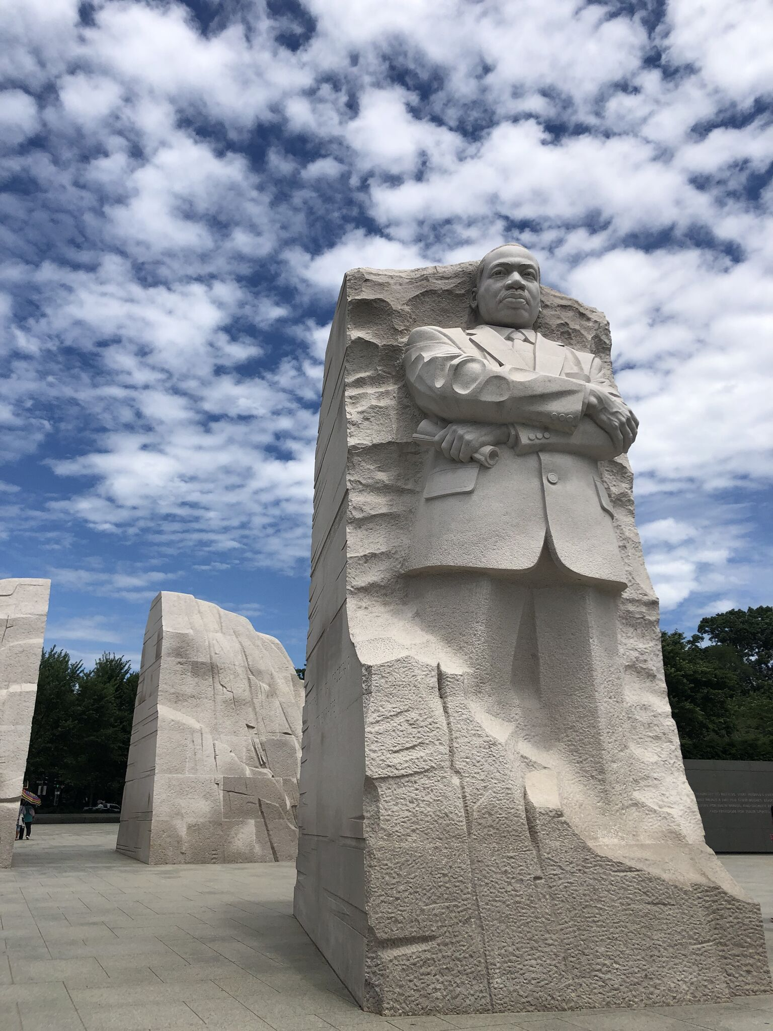 Martin Luther King Jr Statue in National Mall