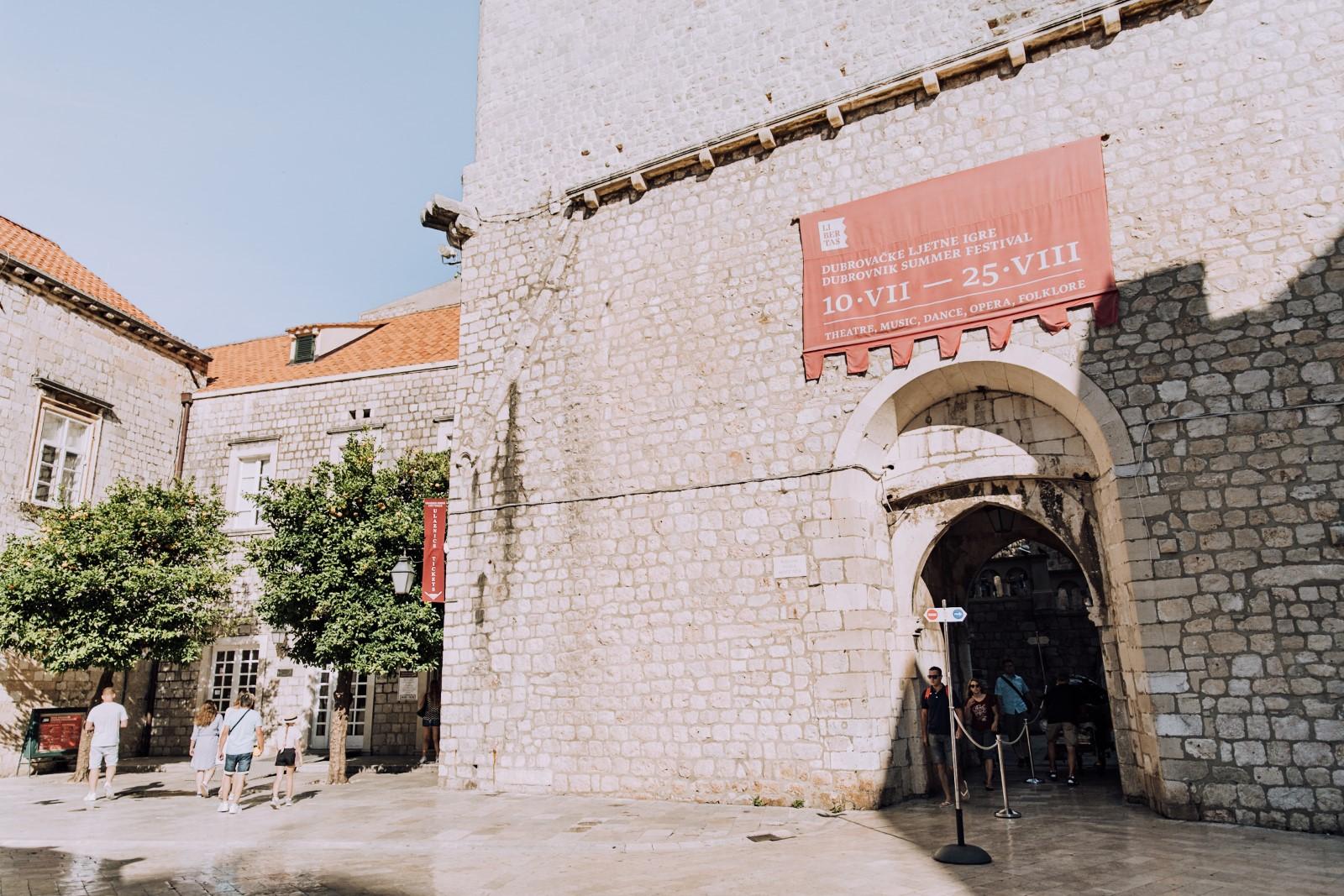 Pile Gate Entrance in Dubrovnik