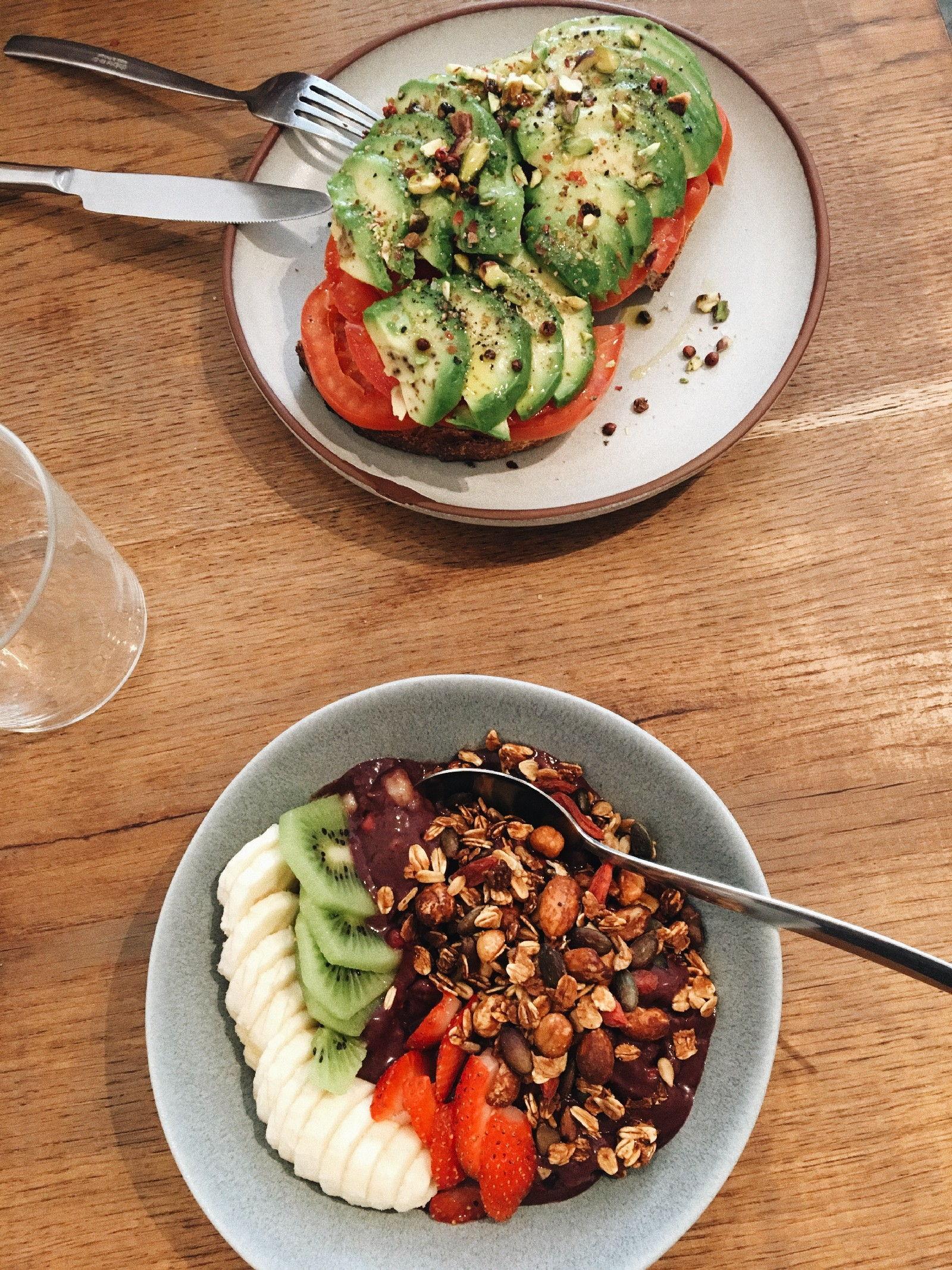 Acai Bowls and Avocado Toast