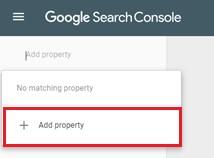 Google Add Property