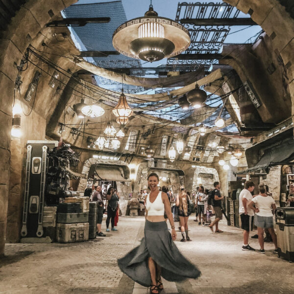 Marketplace at Star Wars Galaxy's Edge