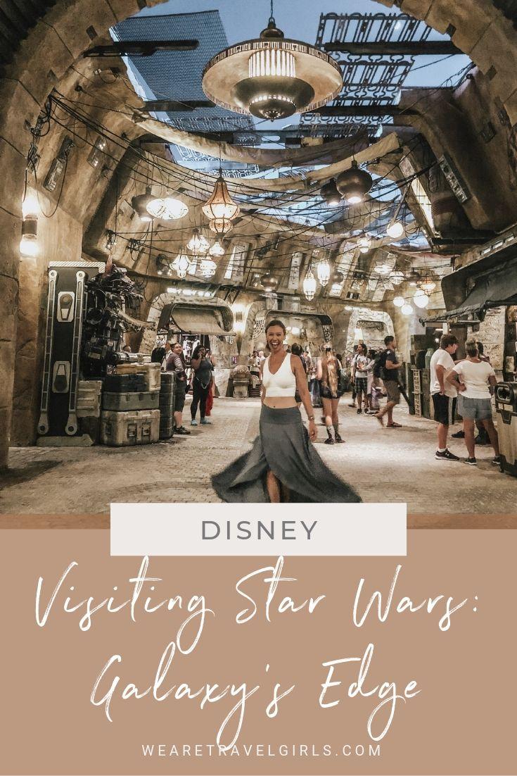 Visiting Star Wars Galaxys Edge at Walt Disney World