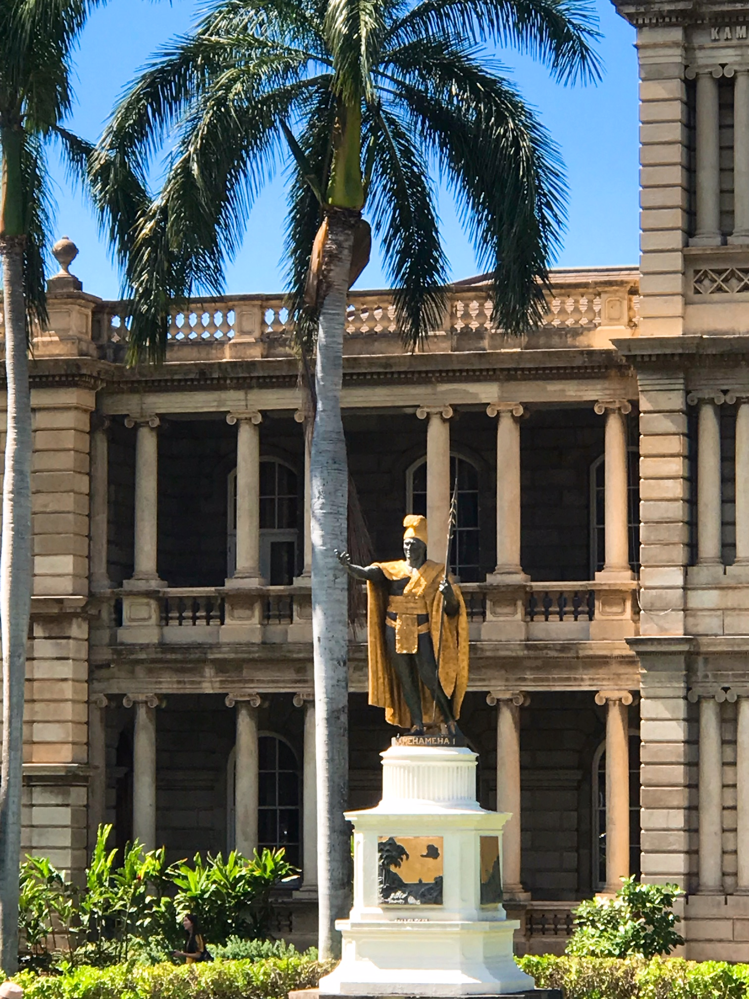 King Kamehameha I Statue