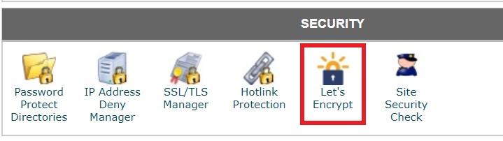 Lets Encrypt Siteground